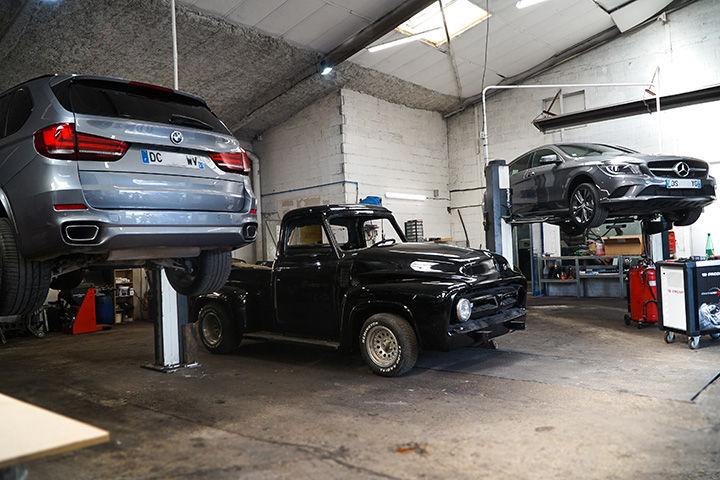 photo Réparation activité atelier b2p autos